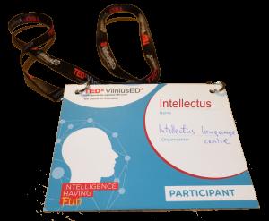 Intellectus dalyvavo TEDx konferencijoje