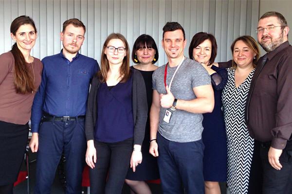 BTA darbuotojai tobulina anglų kalbos įgūdžius anglų kalbos kursuose