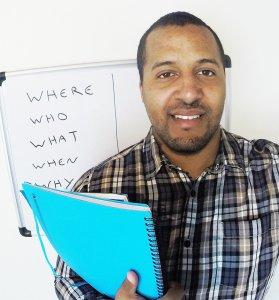 Anglų kalbos mokytojs iš Bristolio Džeimsas Nelsonas
