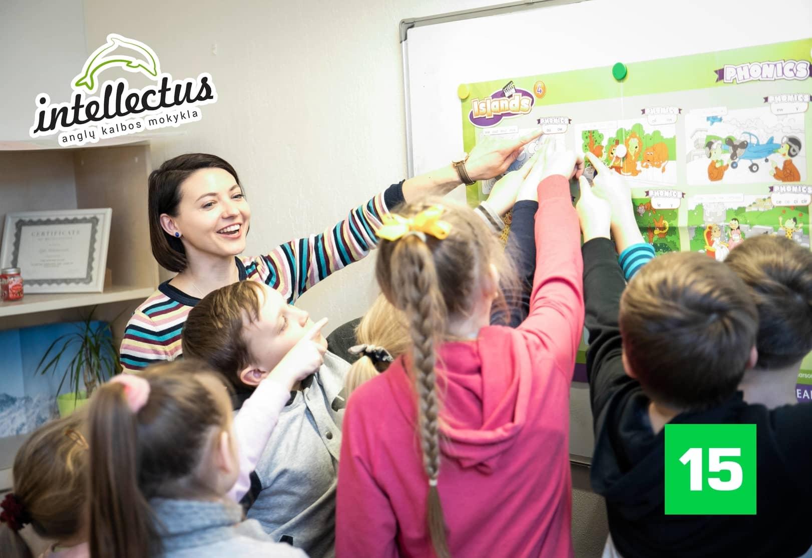 Anglų kalbos dienos stovykla Vilniuje ir Kaune Intellectus