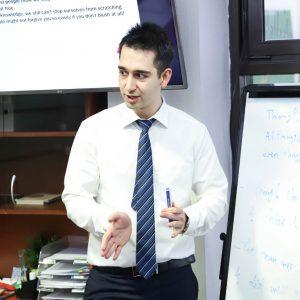 IELTS mokytojas Sina
