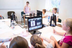Vaikų anglų kalbos dienos stovyklos